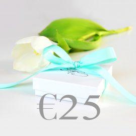 Cadeaubon €25 Neutraal