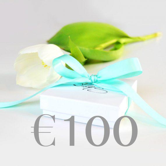 Cadeaubon €100 Neutraal