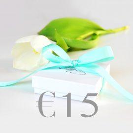 Cadeaubon €15 Neutraal