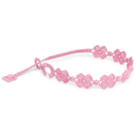 braccialetti Flower Pink