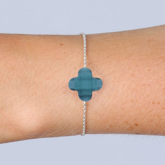 Lucky Bracelet Montana Blue Silver Model