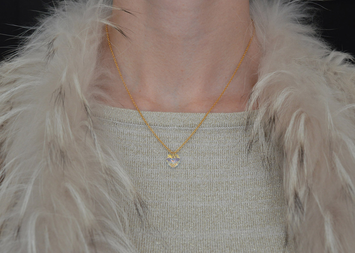 Gouden Ketting Hart – Jewellery by Sophie