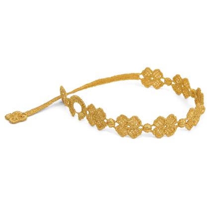 braccialetti Flower Beige