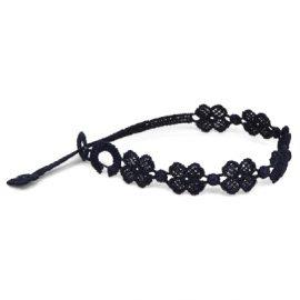 braccialetti Flower Black