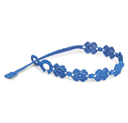 braccialetti Flower Blue