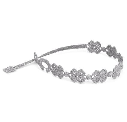 braccialetti Flower Grey