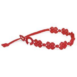 braccialetti Flower Red