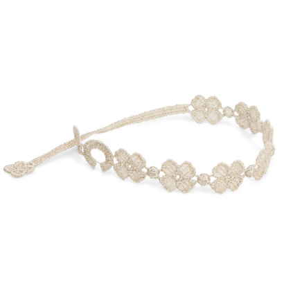 braccialetti Flower White