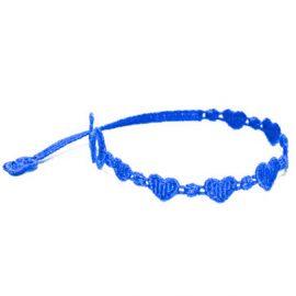 braccialetti Heart Blue