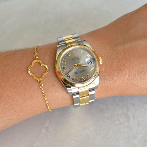Clover Bracelet Gold Model