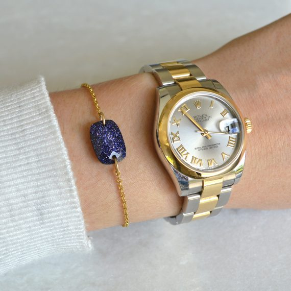 Gemstone Glitter Bracelet