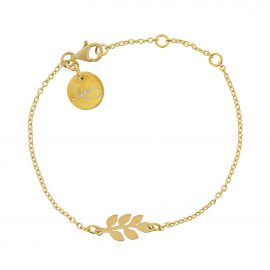 Bracelet Leaves Gold