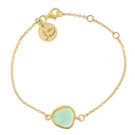 Bracelet We Love Mint Gold