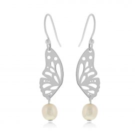 Butterfly Earrings Silver