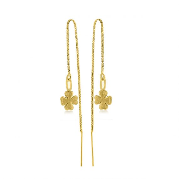 Earrings All the Luck in the World Gold 2