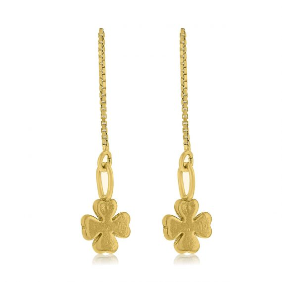 Earrings All the Luck in the World Gold