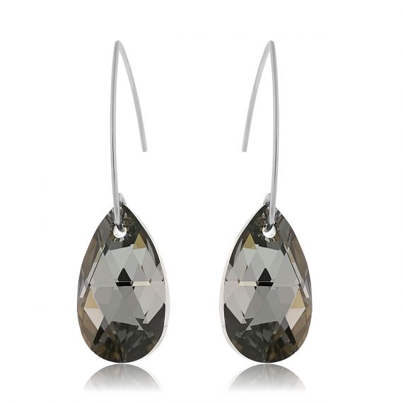 Earrings Glamour Night Silver