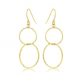 Earrings Hoops Gold
