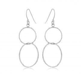 Earrings Hoops Silver