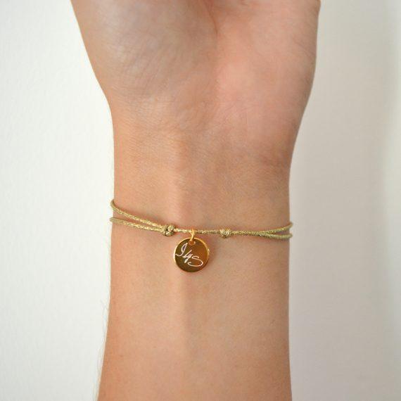 My Everyday Heart Bracelet Gold Model 2