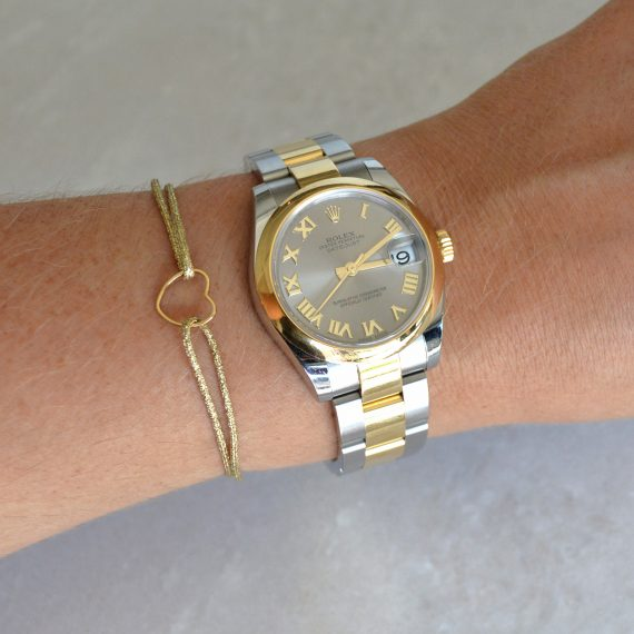 My Everyday Heart Bracelet Gold Model