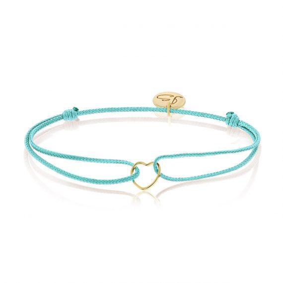 My Everyday Heart Bracelet Mint Gold