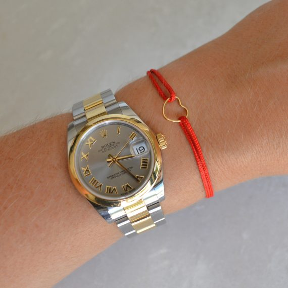 My Everyday Heart Bracelet Red Model