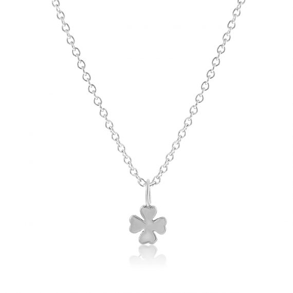 Necklace All the Luck in the World Silver