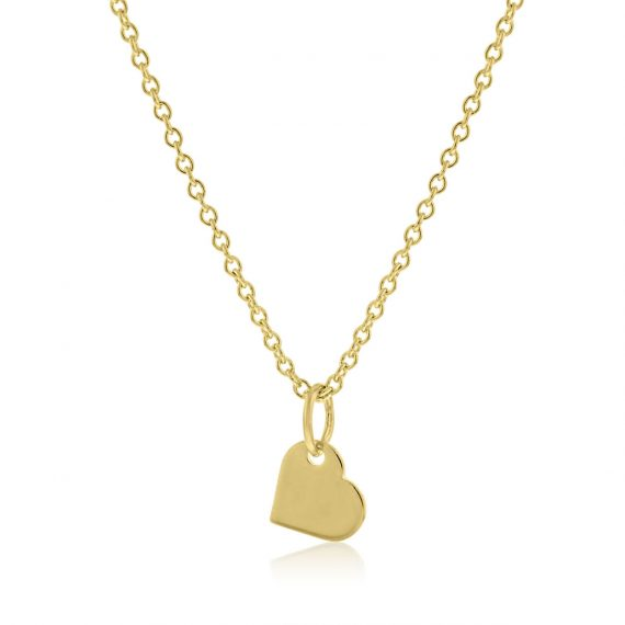 Necklace I love you Gold