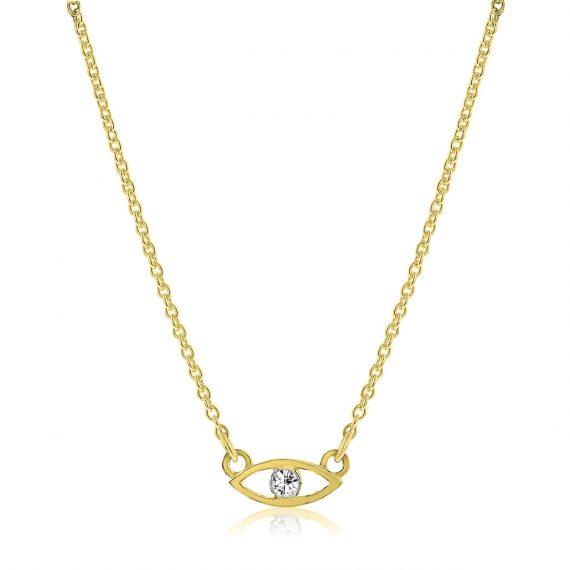 Necklace Keep an Eye Gold