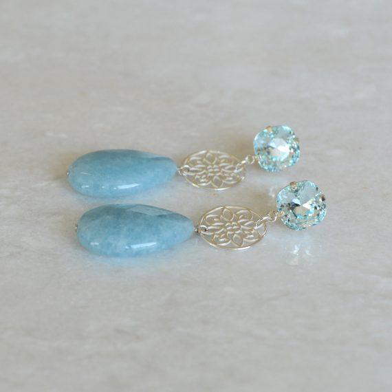 Earrings Baby Blue