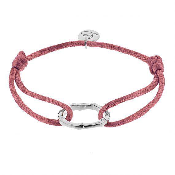 Ring Oud roze Zilver