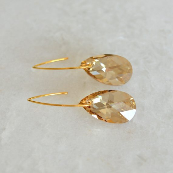 Earrings Glamour Beige Still