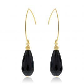 Cuties Earrings Black Gold