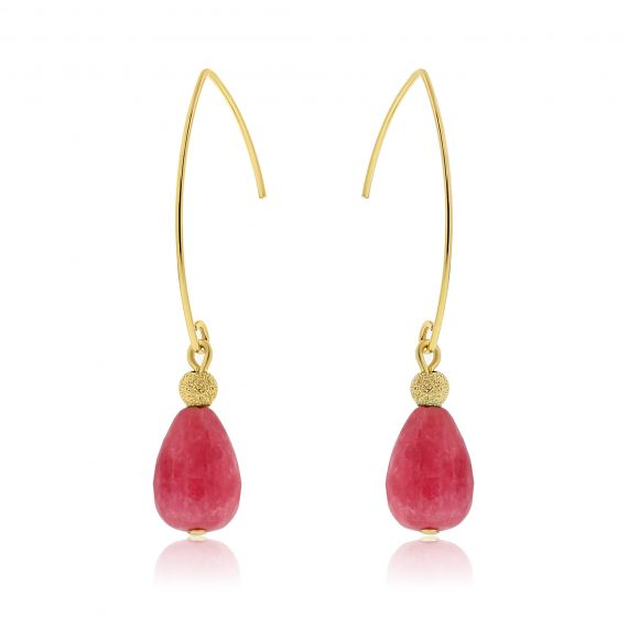 Cuties Earrings Pink Gold