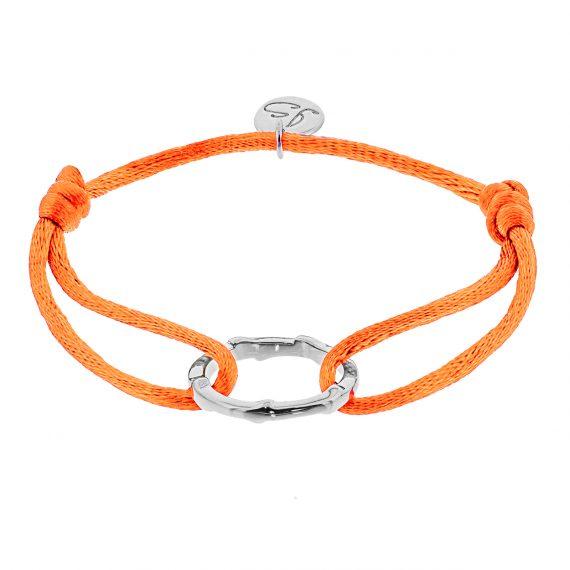 Ring Oranje Zilver