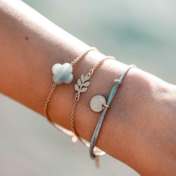 Bracelet Leaves