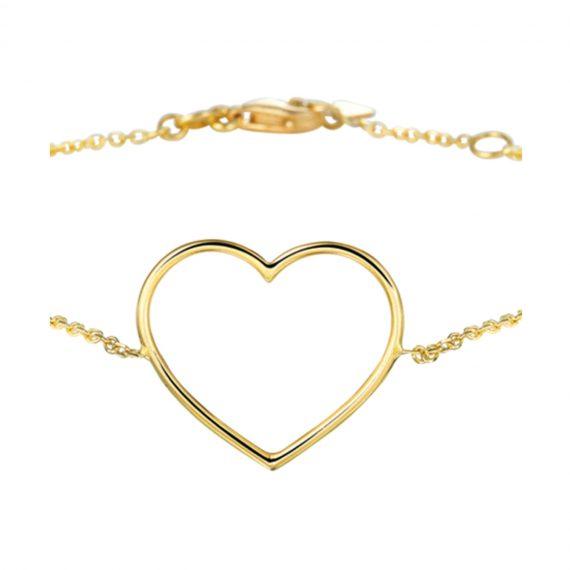 Armband Hart Goud 2