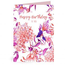 1 Kaart Birthday