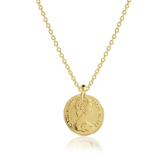 Necklace Pence Gold