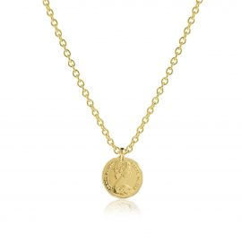 Necklace Penny Gold