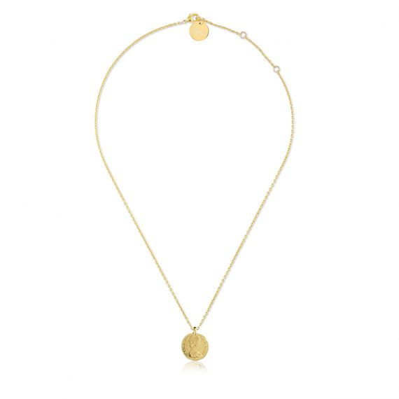 Necklace Penny Gold Long
