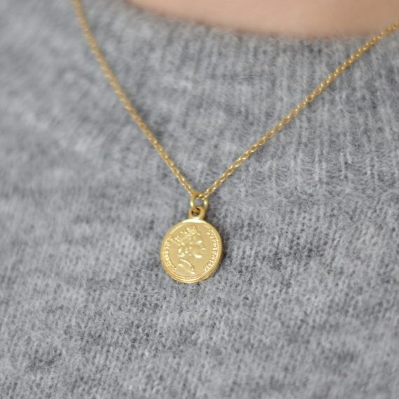 Necklace Penny Gold Still
