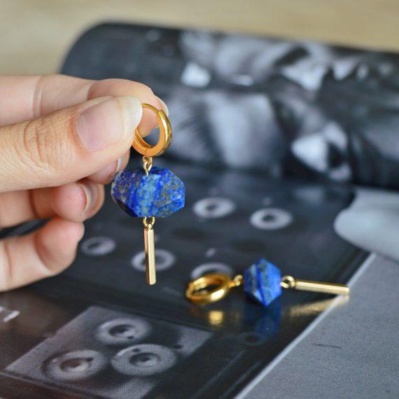 Treasure Earrings Cobalt