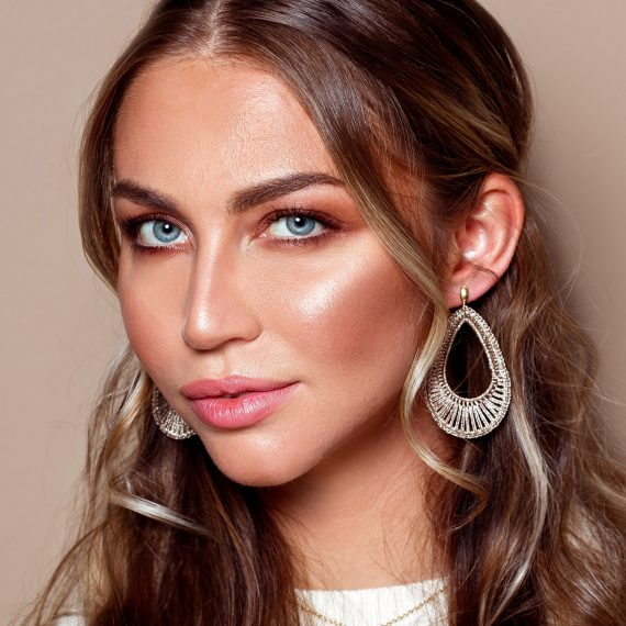 Party Earrings Gold 2