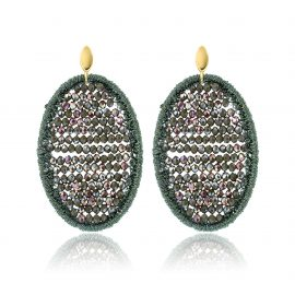 Beads Earrings Geen