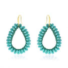 Earrings Paradiso Aqua