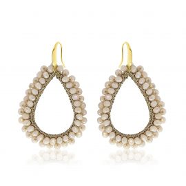 Earrings Paradiso Beige