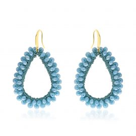Earrings Paradiso Bright Blue