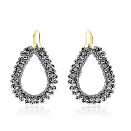 Earrings Paradiso Dark Grey